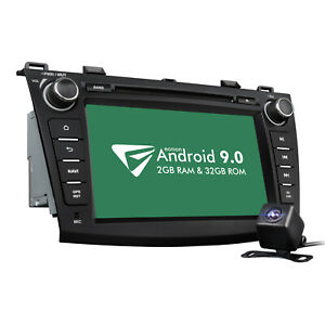 Android 8 1 4core 8 Car Radio Gps Navi Dvd Stereo Bluetooth For Mazda 3 10 13 B