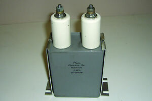 Lk200 104 1 Uf 20 Kvdc High Voltage Filter Capacitor And Mounts Tested
