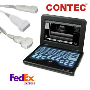 Portable Laptop Machine Digital Ultrasound Scanner Convex linear cardiac Probes