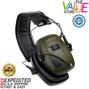 Electronic Shooting Earmuff Noise Reduction Sound Amplification Safety Ear Muff