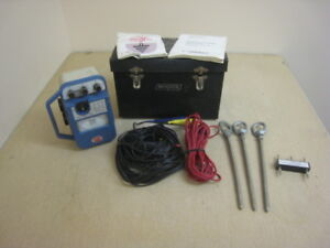 Biddle 250260 Megger Direct Reading Earth Tester W Case And Leads