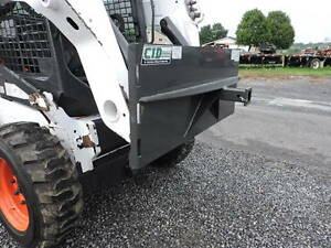 Brand New Cid Xtreme Hitch Receiver Skid Steer Quick Attach Plate Bobcat Loader