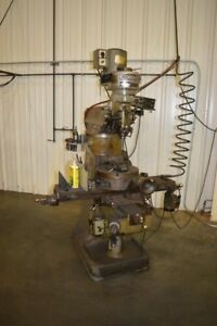 Mighty 2 sa Vertical Milling Machine W Dro