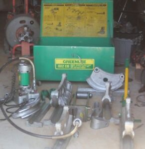 Greenlee Hydraulic 882 Cb Cambi Pipe Bender