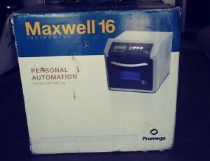New Promega Maxwell 16 Magnetic Particle Sample Purification Processor As2000