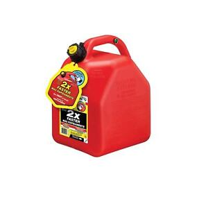 Scepter 10445 Hi Flow Vented Gas Can Plastic 5 gallon