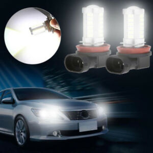 H8 H11 5630 33smd Led Car Driving Fog Light Headlight Bulbs White New