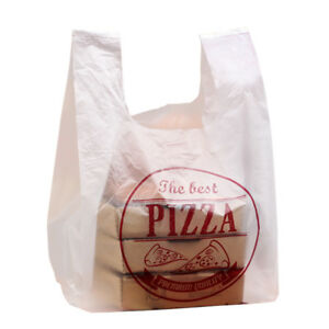 7 9 10 12 Plastic Clear Pizza Bag Take out Packaging Bags