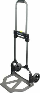 Magna Cart Ideal 150 Lb Capacity Steel Folding Hand Truck Silver