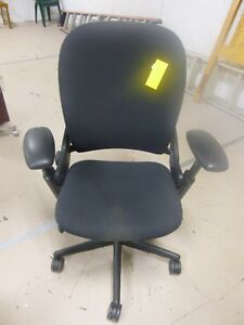 Executive Chair By Steelcase Leap Black