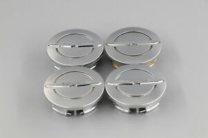 Chrysler 200 300 Town Country Wheel Silver Center Caps Factory Oem Set 4