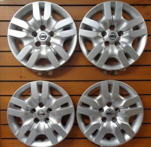 Set 2009 2010 2011 2012 For Nissan Altima 16 Bolt On Hubcap Wheel Cover 53078