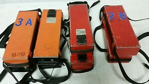 Lot Of 8 Leica Geb71 Battery For Wild Total Station Batteries