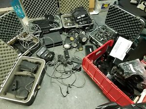 Huge Lot Of Mph K55 Bee 36 A Police Doppler Radar Guns Base Unit Mount Antenna
