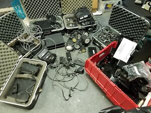 Huge Lot Of Mph K55 Bee 36 A Police Doppler Radar Guns Base Unit Mount