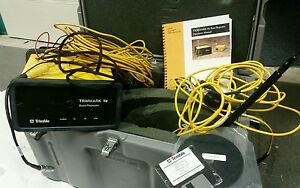 Trimble 384600 45 Trimmark Iie Base Station w Antenna Cables Case Misc Cords