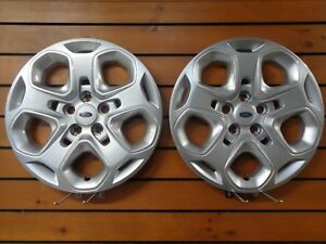 Pair Of 2 New Ford Fusion 17 2010 2011 2012 Hubcap Wheel Cover 7052