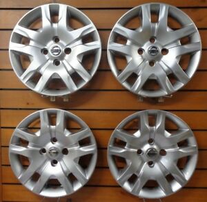 Set Of 4 New 2010 2011 2012 Fits Nissan Sentra Hubcaps 16 Wheel Covers 53084