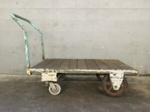 Industrial Rolling Push Cart