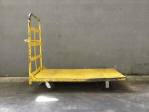 Industrial Dolly Push Cart 60 L X 30 W X 9 H