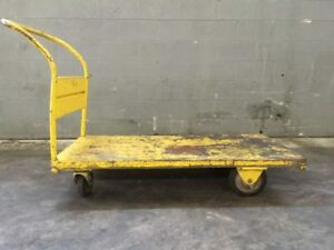 Industrial Rolling Cart Dolly 54 L X 27 W