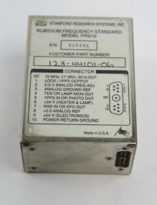 Stanford Research Systems Prs10 10mhz Rubidium Frequency Standard