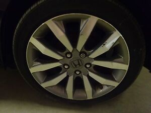 Oem Alloy Wheel 2009 Honda Civic Si 17x7 10 Spoke Tire Not Included