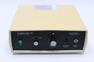 Elmed Esu 70 Electosurgical Unit