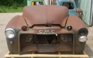 1947 1953 Gmc Truck Front Clip Fenders Hood Grill Shipping Included