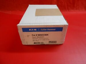 Eaton Msecwr Secondary Terminal Wire Kit New In Box