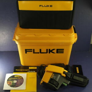 Fluke Tir Ir Fusion Technology Thermal Imager Infrared Camera Excellent Case