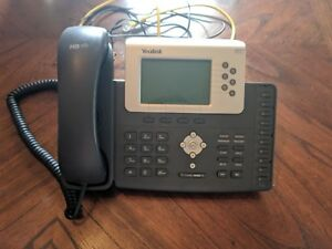 Yealink Sip t21p Multi line Phone With Headset