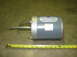 Doerr Electric Motor Lr22132 1 15 Hp 3000 2500 Rpm 115 Volt Ac