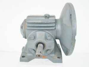Boston Worm Gear Reducer uf113a 10 ratio 10 To 1 56 C Flange Motor Mount
