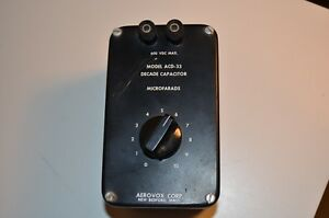 Aerovox Corp Model Acd 33 Decade Capacitor Free Shipping