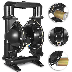 Air operated Double Diaphragm Pump 2 Inlet Qby4 50l 140gpm Petroleum Fluid
