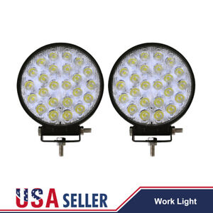 2x 72w Cree Led Work Light Spot Flood Beam Off road Lamp For Car Truck Boat Suv