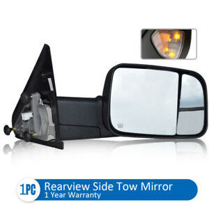 For 03 06 Silverado Tahoe Pickup Manual Towing Mirrors Left right Side Mirrors