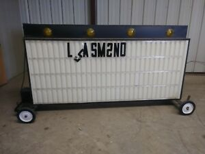 Lighted Commercial Signs