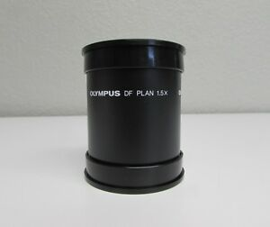Olympus Df Plan 1 5x Objective For Szh szh 10 Stereo Microscopes