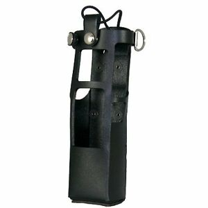 Boston Leather Radio Holder For Motorola Apx 7000 With Extended Battery Radio