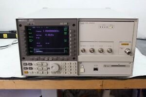 Hp 70340a Signal Generator And Hp 7000a Display 1 20 Ghz Calibrated With Cert
