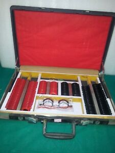 Trials Lens Set With Trail Frame Dust Cover Wooden Case