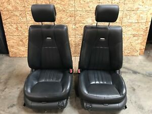 03 06 Mercedes S430 S500 S55 S600 Front Left Right Amg Leather Seat Seats Set