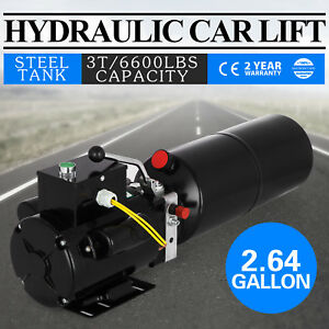 A Car Lift Auto Repair Shop Hydraulic Power Unit 220v 60hz 1 Ph