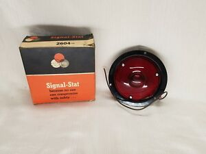 2 Vintage Used Signal Stat Brake And Turn Signal Lights