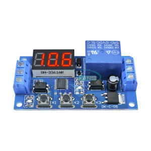 12v Led Automation Delay Timer Control Switch 3 digit Relay Display Module