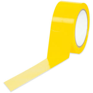 Tape Logic Solid Vinyl Safety Tape 6 0 Mil 2 X 36 Yds Yellow 24 case T9236y