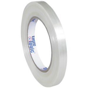 Tape Logic 1500 Strapping Tape 1 2 X 60 Yds Clear 72 case T9131500