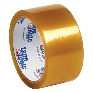 Tape Logic 53 Pvc Natural Rubber Tape 2 1 Mil 2 X 55 Yds Clear 36 case T90153